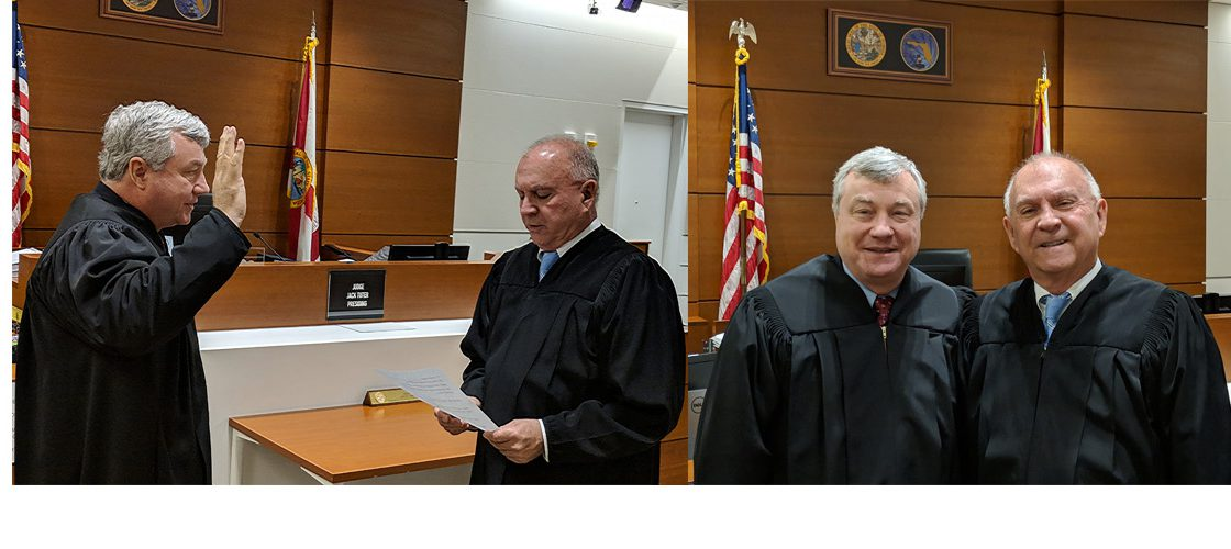 Judge Daniel Casey Sworn In
