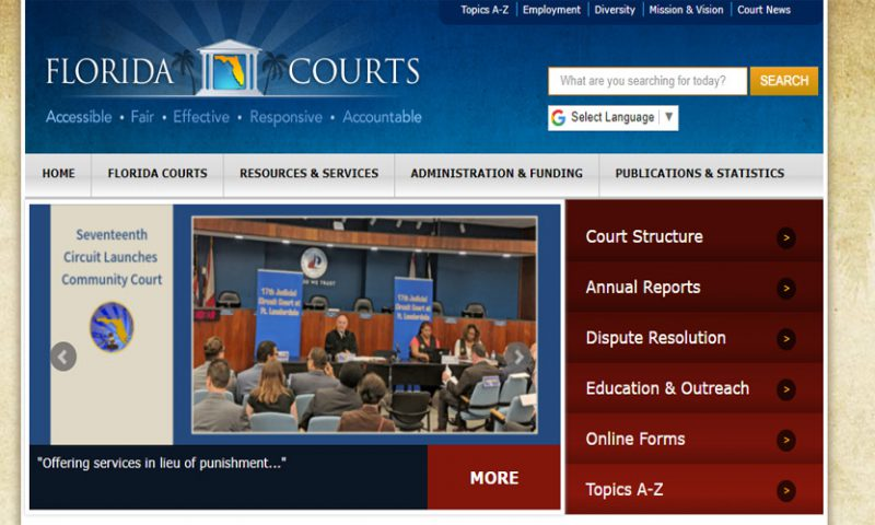 Florida's Office of the State Court Administrator Features Article on Community Court