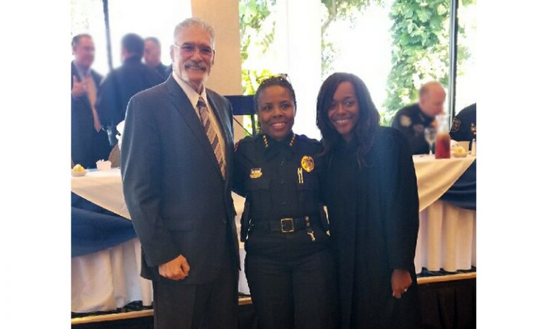Judges Honor New President of Broward County Police Chiefs Association